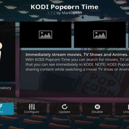 Popcorn Time on Kodi
