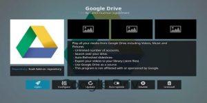 google drive on kodi