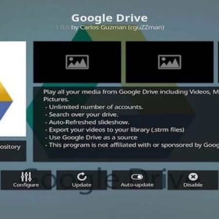 google drive on kodi