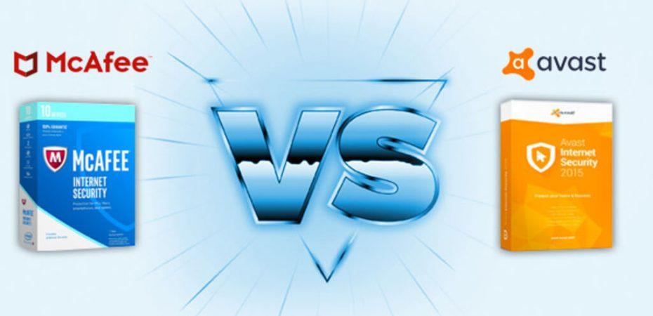 McAfee vs Avast