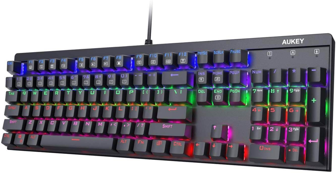 AUKEY KM-G6 Gaming Keyboard
