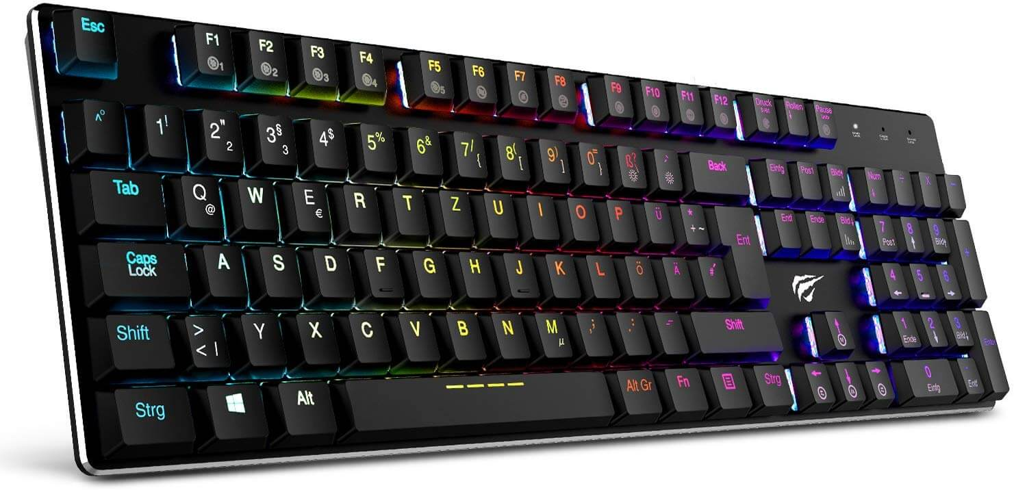 HAVIT HV-KB395L Wired Gaming Keyboard