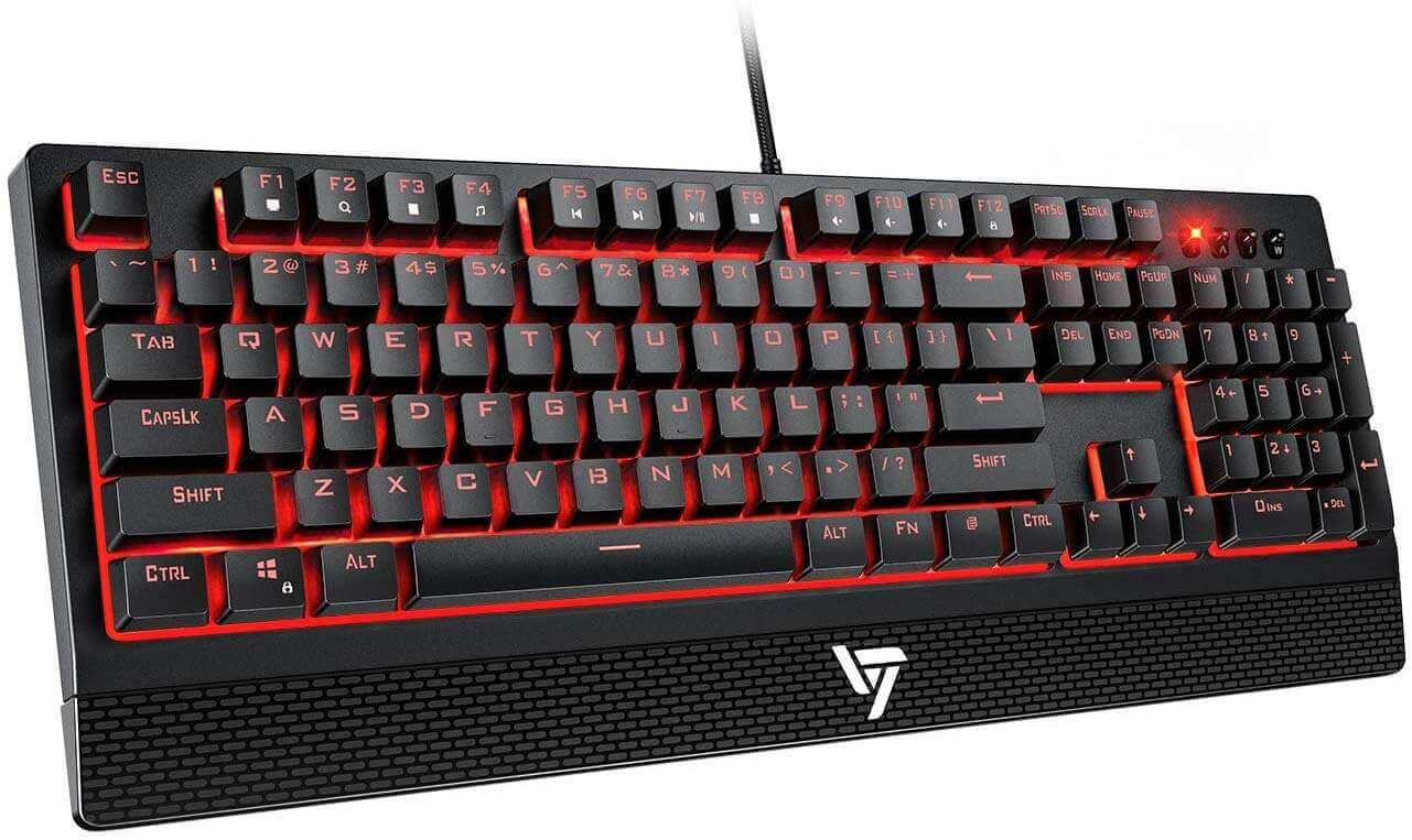 VicTsing OL205040US Wired Gaming Keyboard