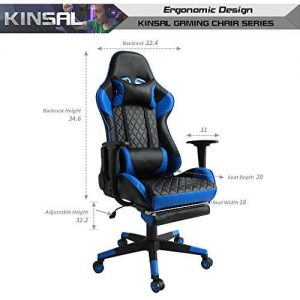 kinsal gaming chair Design