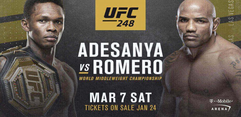 Stream UFC 248