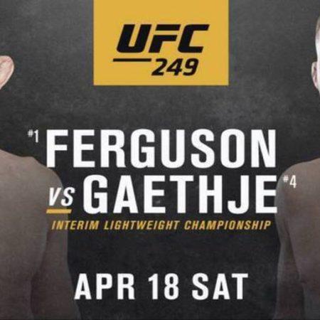 Stream UFC 249
