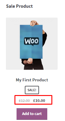 Sale Product