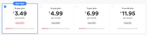 NordVPN-price