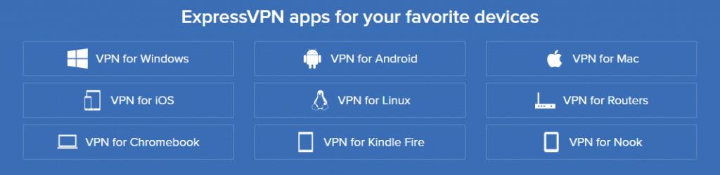 ExpressVPN - Apps