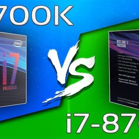 i7-9700K vs Intel Core i7-8700K