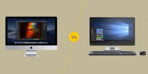 Mac vs PC Desktop