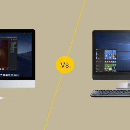 Mac vs PC Desktop