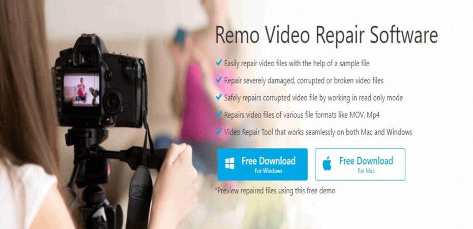 Remo Video Repair Software