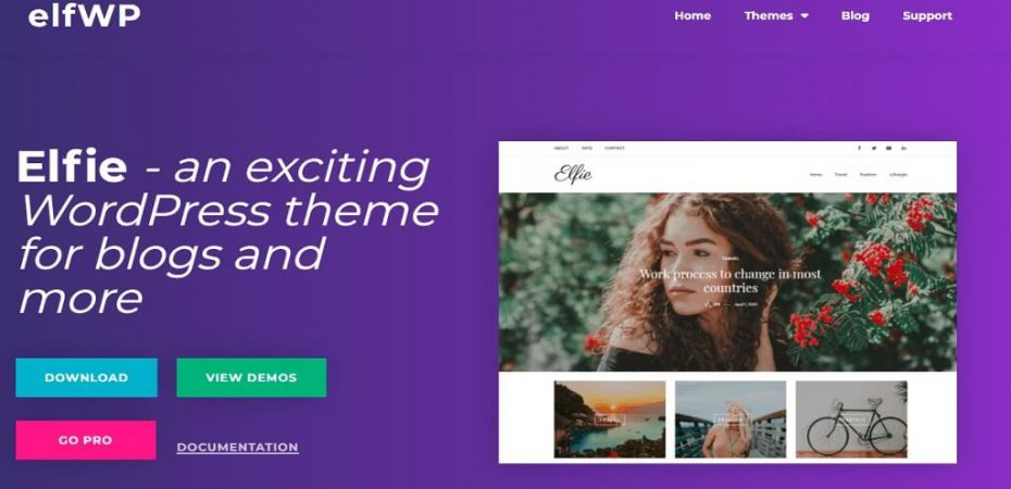 Elfie WordPress Theme Review