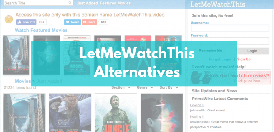 LetMeWatchThis Alternatives