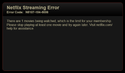Netflix Limitations and Restrictions