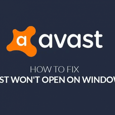 Avast not opening on Windows