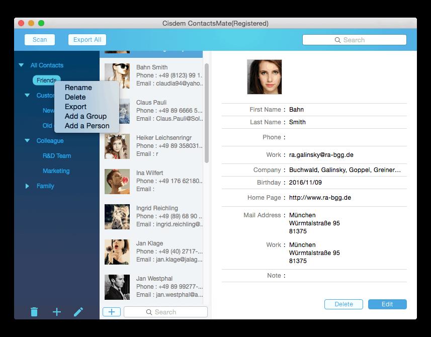 Create Custom Groups