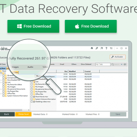 CAT Data Recovery Software Review