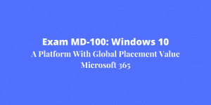 Exam MD-100