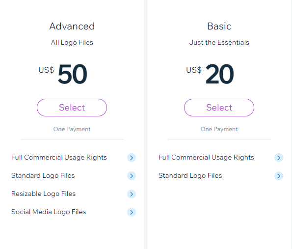 Wix Logo Maker Pricing