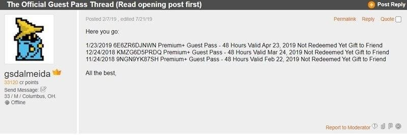 Try the Guest Pass