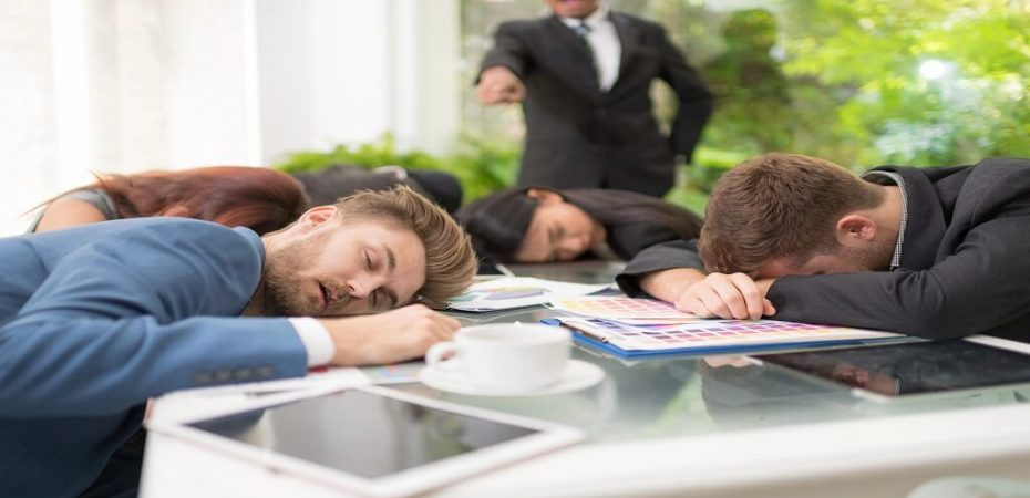 Employees Are Slacking Off
