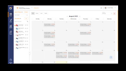 All-in-One Social Media Calendar