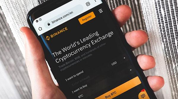 Register on the Crypto Exchange