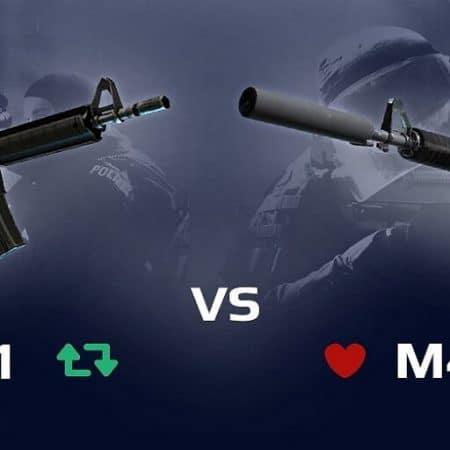 M4A4 vs. M4A1-S