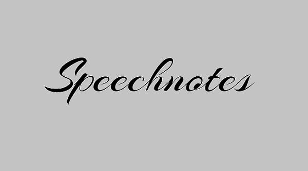 Speechnotes